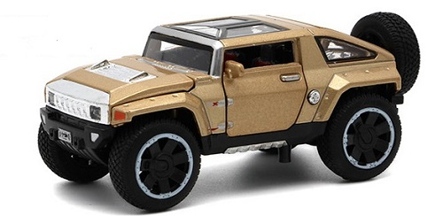 โมเดลรถเหล็ก โมเดลรถยนต์ Hummer hx 7
