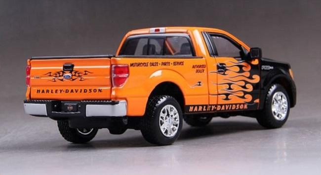 โมเดลรถ รถเหล็ก โมเดลรถเหล็ก โมเดลรถยนต์ Ford F150 STX 2