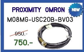 PROXIMITY OMRON  Model:M08MG-USC20B-BV03 (สินค้าใหม่) ราคา 750 บาท
