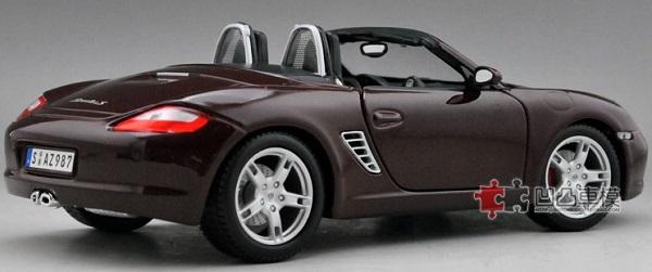 โมเดลรถ โมเดลรถเหล็ก โมเดลรถยนต์ Porsche 987 Boxster 2