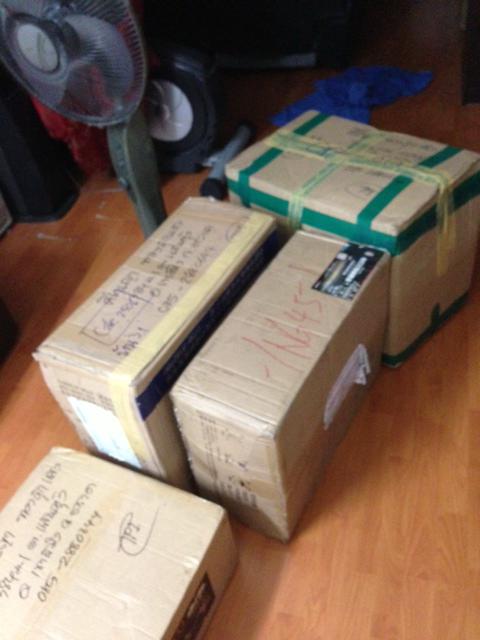 รวมกล่องทั้งหมดค่ะ