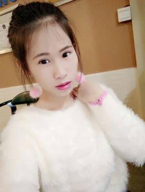 ต่างหู,ตุ้มหูแฟชั่นสไตล์เกาหลีก้านสีทองคริสตัลแต่งปอมปอมสีชมพู