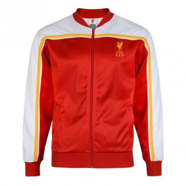 เสื้อแจ็คเก็ตเรทโรย้อนยุคลิเวอร์พูล 1981 ของแท้ Liverpool FC 1981 Retro Track Jacket