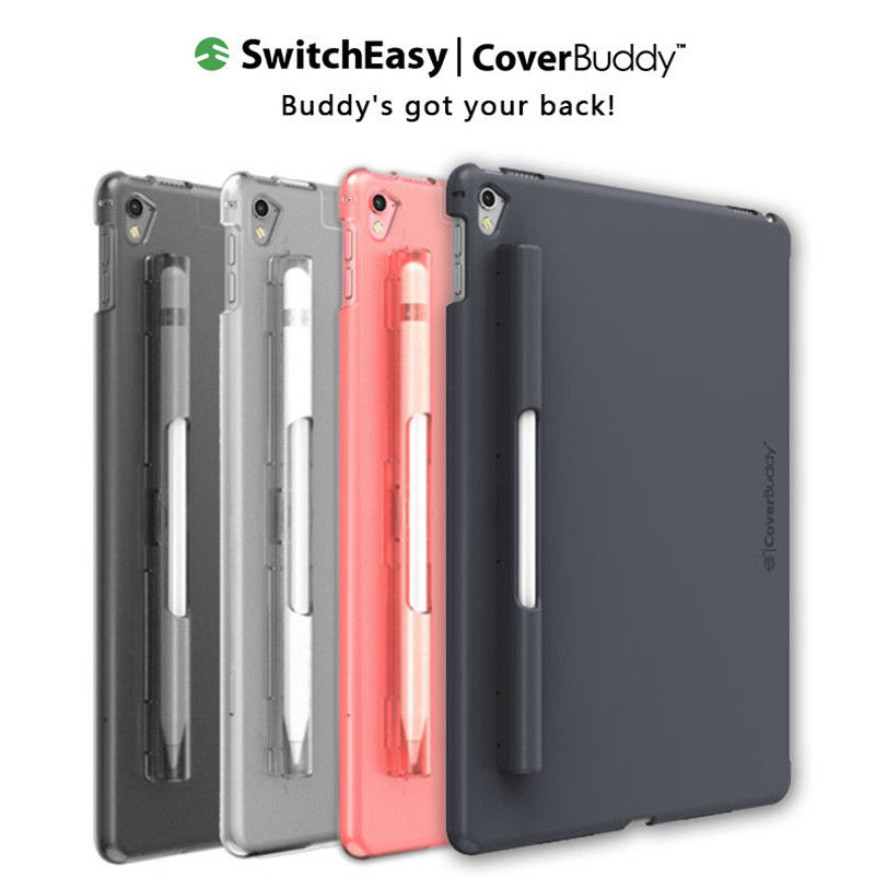 """SwitchEasy CoverBuddy Pencil Holder Back Cover Case Protective for iPad Pro 12.9"""" GEN2 2017"""