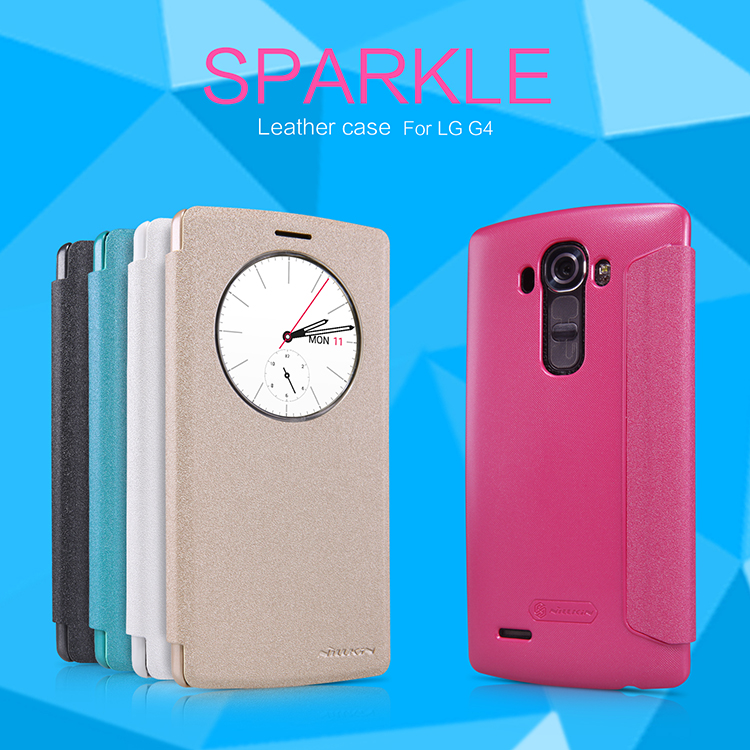 เคส LG G4 Sparkle Leather Case NILLKIN แท้ !!