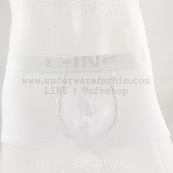 กางเกงในชาย C-IN2 Boxer Briefs : สีขาว