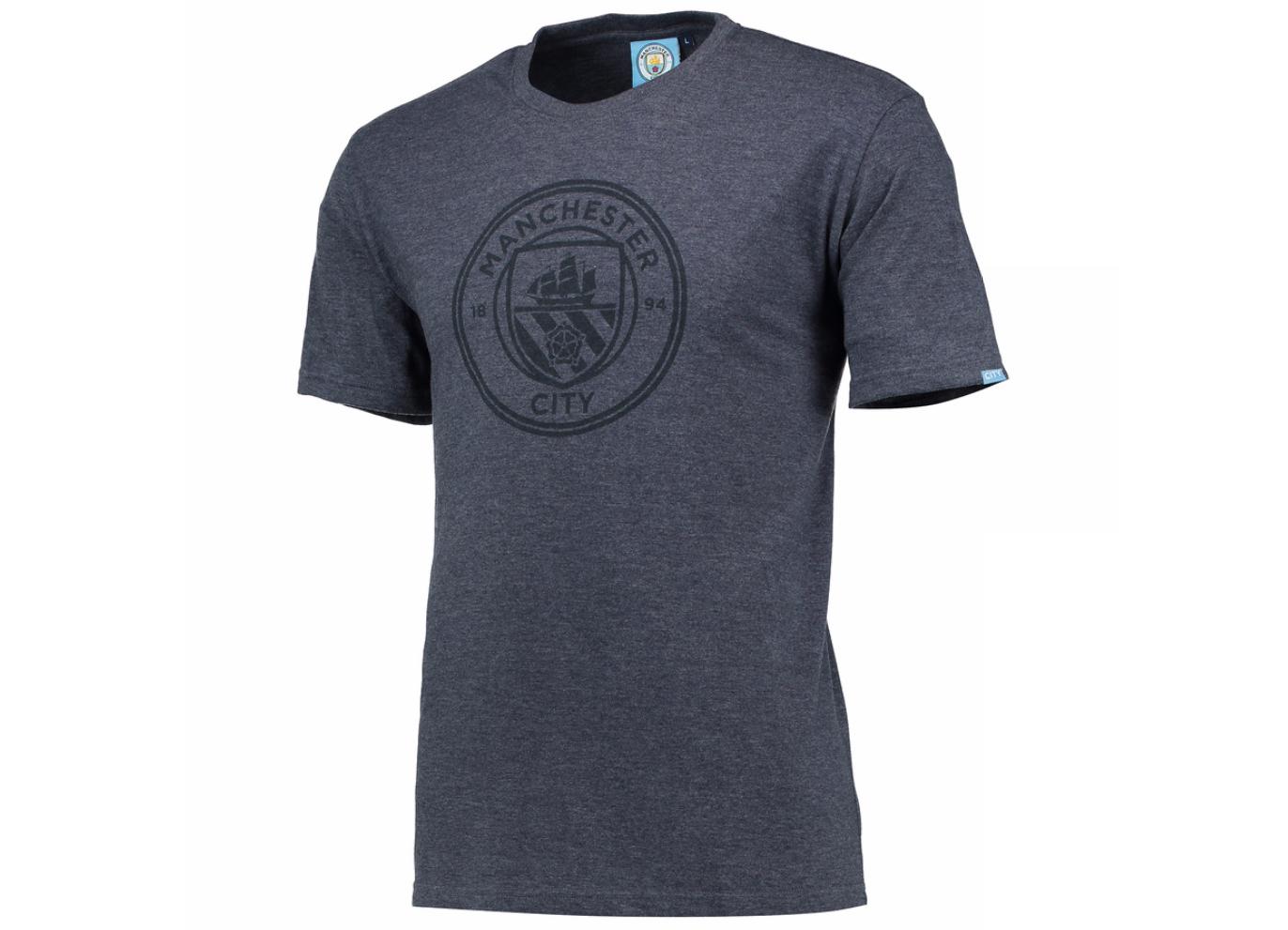 เสื้อแมนเชสเตอร์ ซิตี้ของแท้ Manchester City Printed Crest T-Shirt