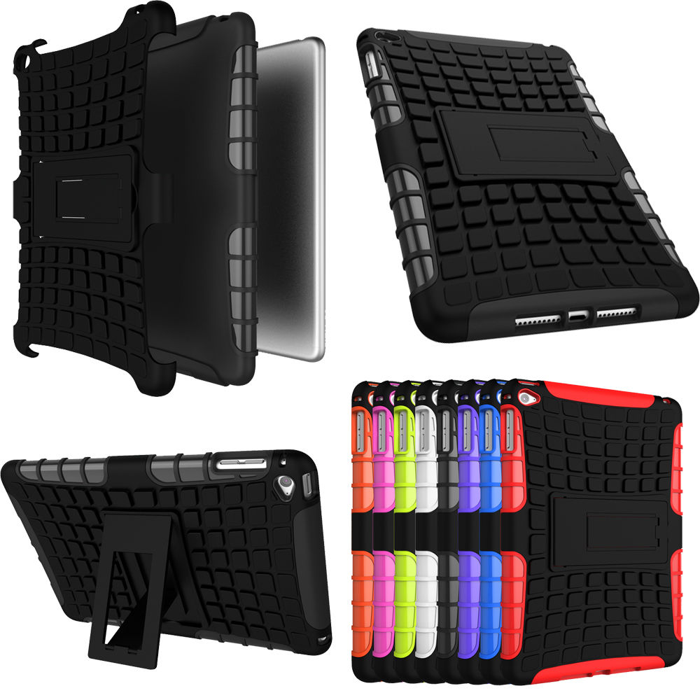 Hybrid Outdoor Protective Case for iPad mini 1/2/3 7.9""