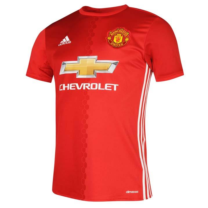 เสื้อแมนเชสเตอร์ ยูไนเต็ด 2016 2017 ทีมเหย้าของแท้