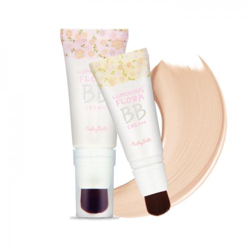 *พร้อมส่ง* Cathy Doll Luminous Flora BB Cream SPF30 PA++ 30g Cathy Doll La Vie en Fleurs ลูมินัสฟลอร่าบีบีครีม บีบีครีมผสมชิมเมอร์ no.21 ผิวขาว