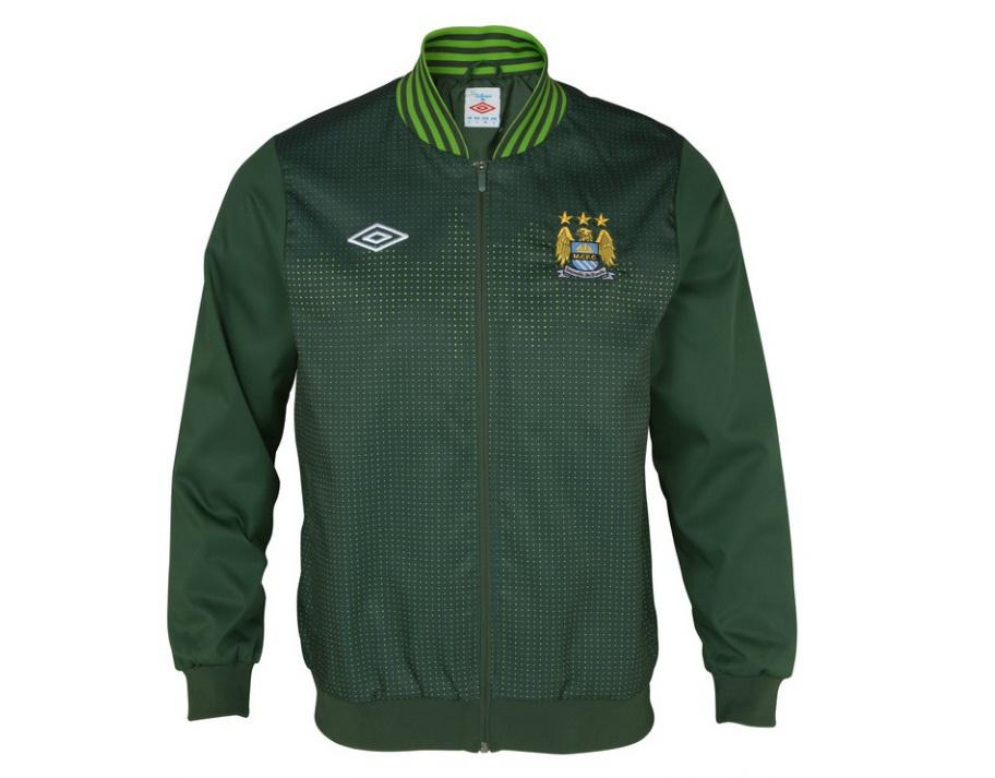 เสื้อ Mancity เสื้อแจ็คเก็ต แมนเชสเตอร์ ซิตี้ ของแท้ 100% สีเขียวเรสซิ่ง Manchester City Soundwave Mercer Jacket - Racing Green/Tendershoots จากอังกฤษ เหมาะสำหรับสวมใส่ เป็นของฝาก ของที่ระลึก ของสะสม ของขวัญแด่คนสำคัญ