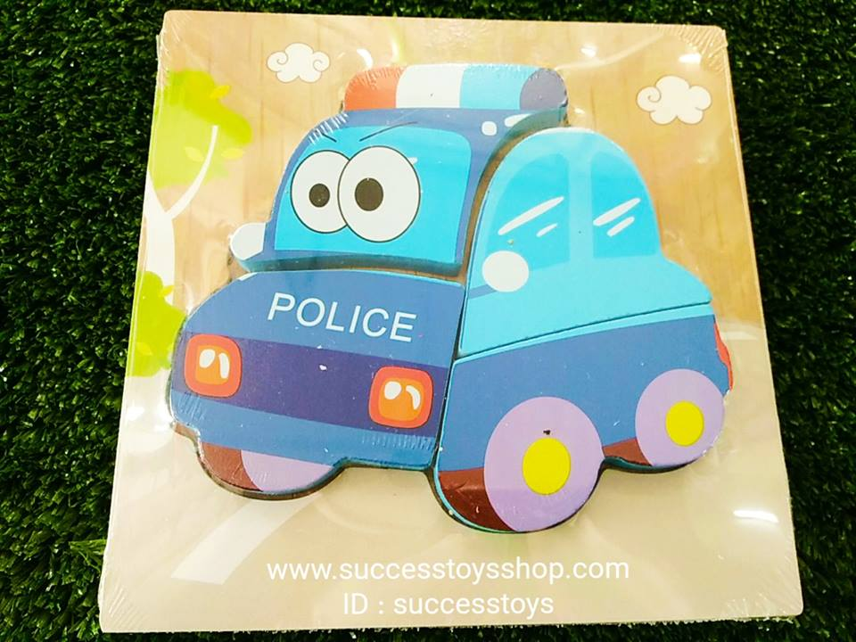 กระดานไม้ต่อภาพตำรวจ