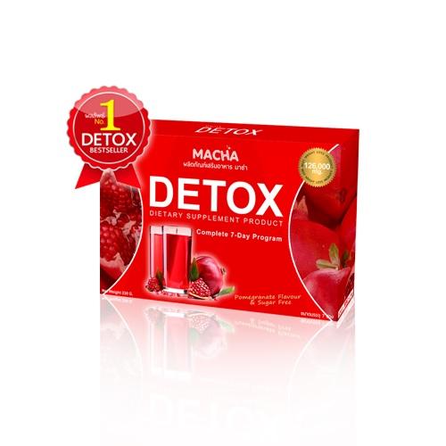 มาช่า ดีท๊อกซ์ Macha Detox 1 กล่อง 7 ซอง