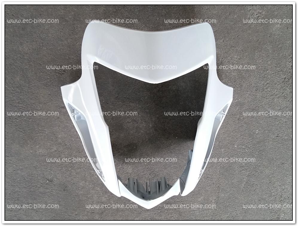 หน้ากาก SONIC125-NEW (2004) สีขาว