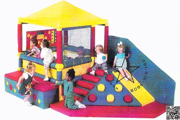SKP-01 สไลเดอร์บ้านบอล (แถมบอล 1,000 ลูก)