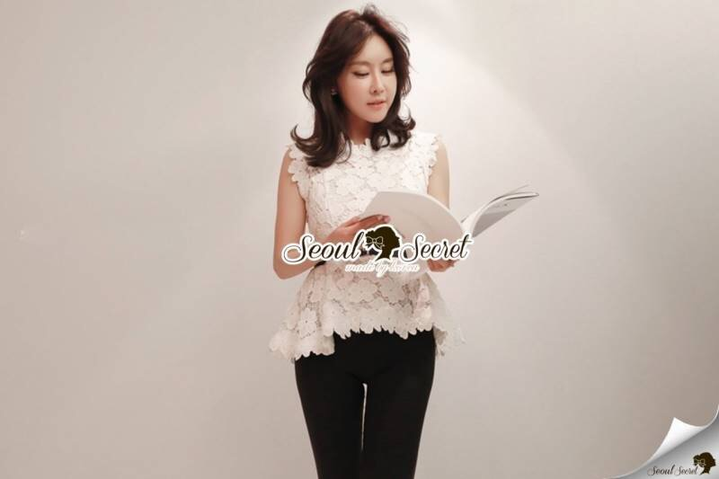 Seoul Secret Say's... Korea Lace Blouse
