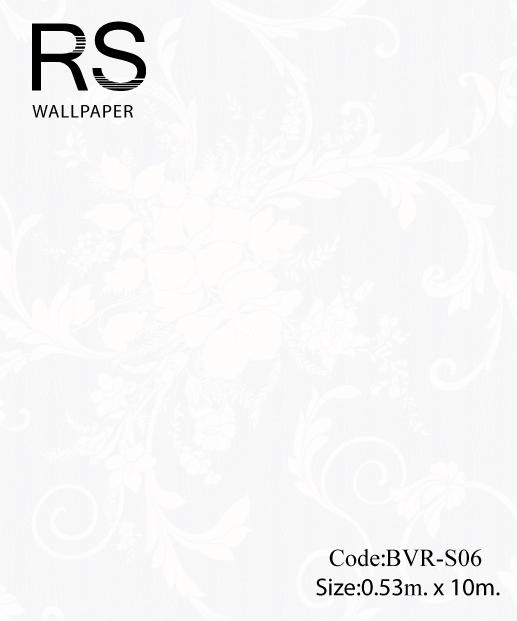วอลเปเปอร์ลายดอกไม้ BVR-S06