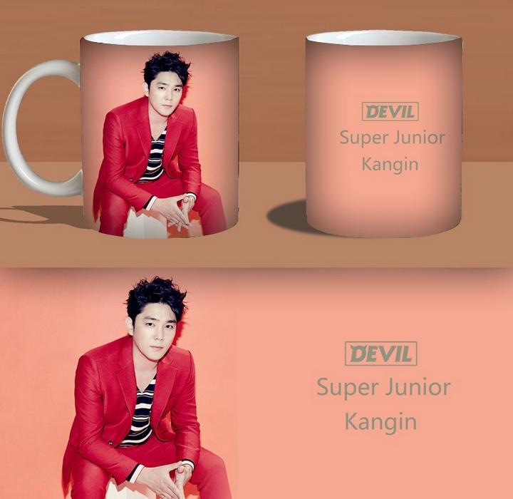 แก้วมัค SUPER JUNIOR : DEVIL คังอิน