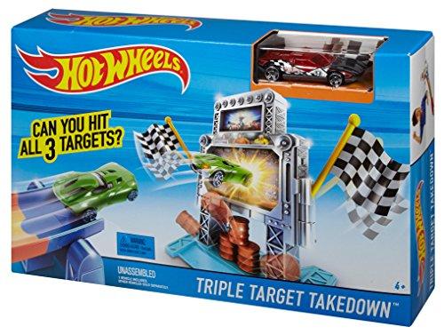 รถ Hot Wheels Triple Target Takedown ส่งฟรี
