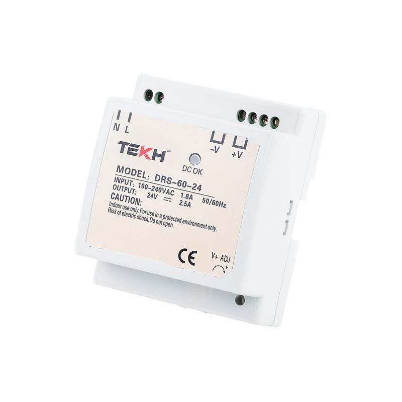 TEKH™ หม้อแปลง สวิทชิ่ง แบบยึดราง DIN 24V 2.5A 60W
