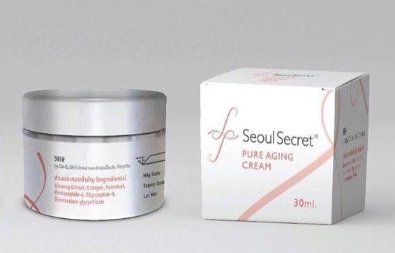 Seoul Secret Purify Aging Cream ครีมดูแล และช่วยปกป้องริ้วรอย โซล ซีเครท เพียวริฟาย เอจจิ้ง ครีม