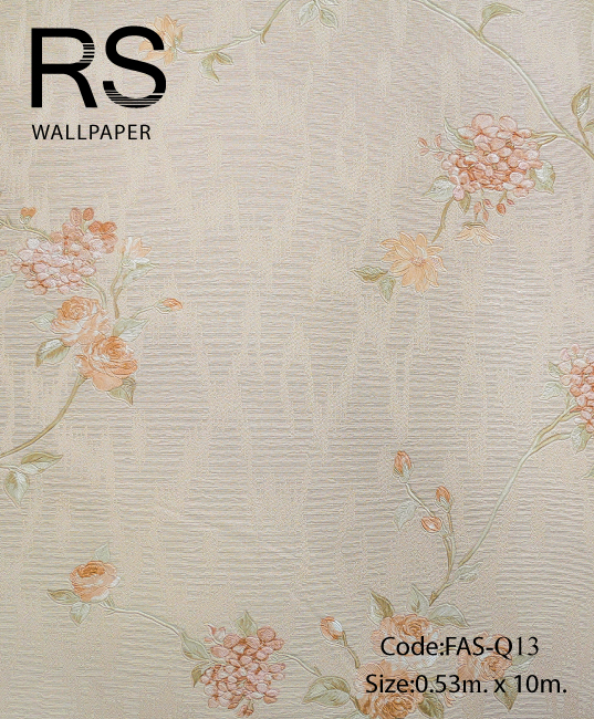วอลเปเปอร์ลายดอกไม้ FAS-Q13