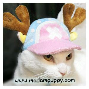 หมวกน้องหมาแฟนซี กวางเรนเดียร์ พร้อมส่ง