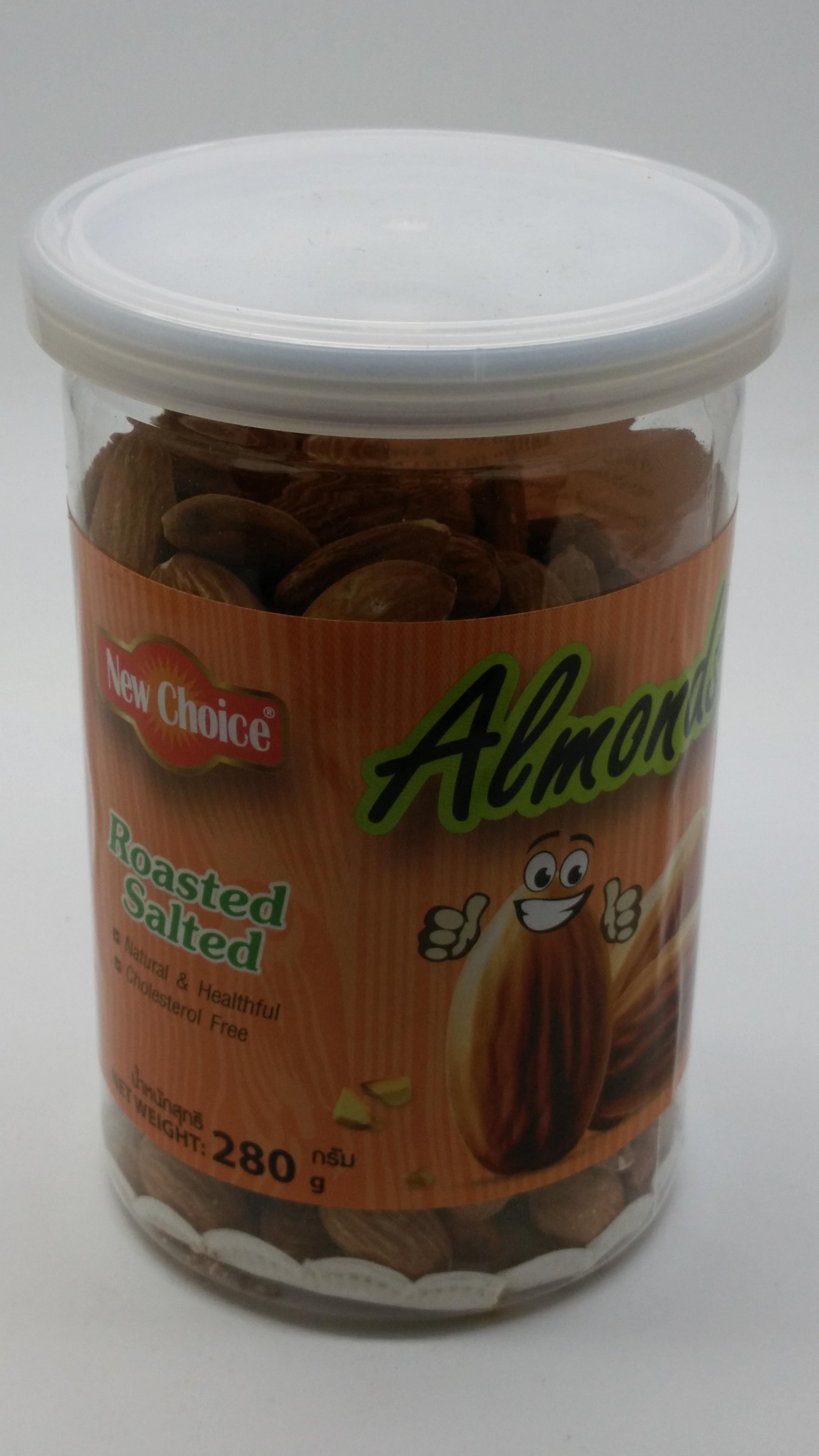 อัลมอนด์อบเกลือ (Almonds)