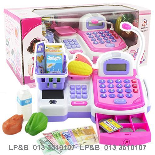 ชุดแคชเชียร์ตั้งโต๊ะ Cash register 9 ส่งฟรีพัสดุไปรษณีย์