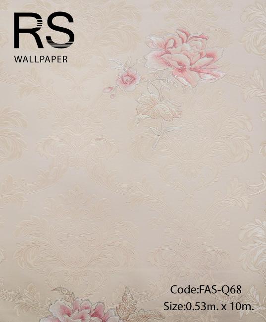 วอลเปเปอร์ลายดอกไม้ FAS-Q68
