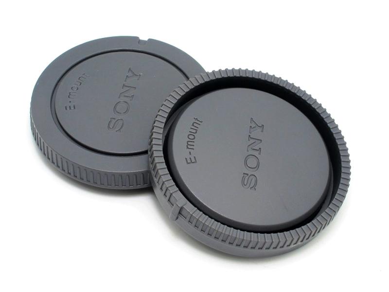 Sony E-Mount ชุดฝาปิด Rear Lens Cap ฝาปิดท้ายเลนส์ + Body Cap ฝาปิดบอดี้