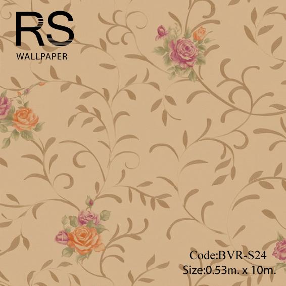 วอลเปเปอร์ลายดอกไม้ BVR-S24