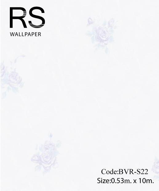 วอลเปเปอร์ลายดอกไม้ BVR-S22