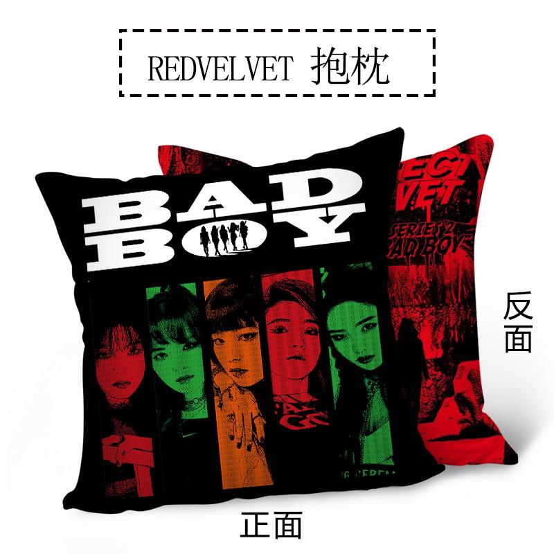 หมอนอิง ลายหน้า-หลัง - Red Velvet