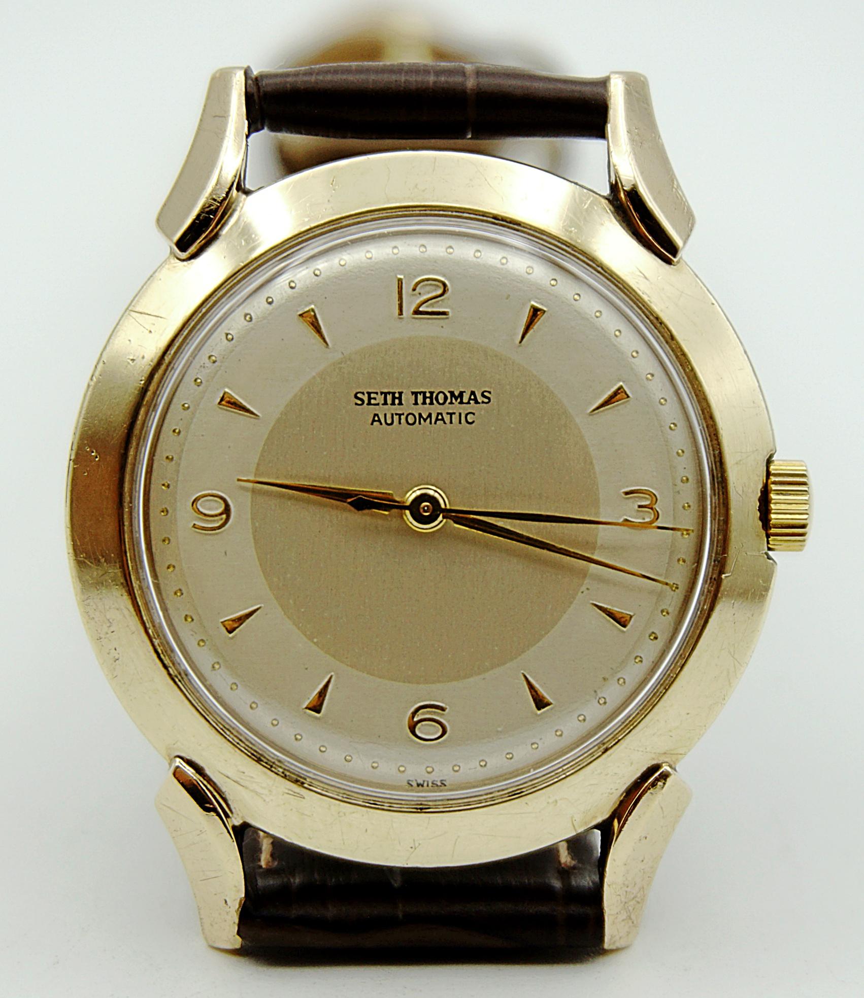 นาฬิกาเก่า SETH THOMAS ออโตเมติก