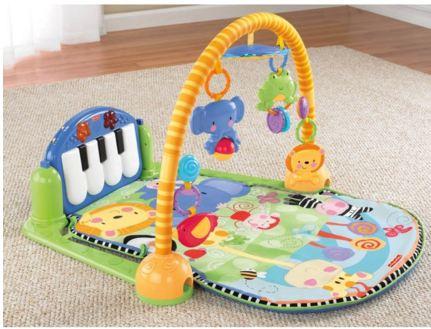 เพลยิม Fisher-Price Kick and Play Piano Gym