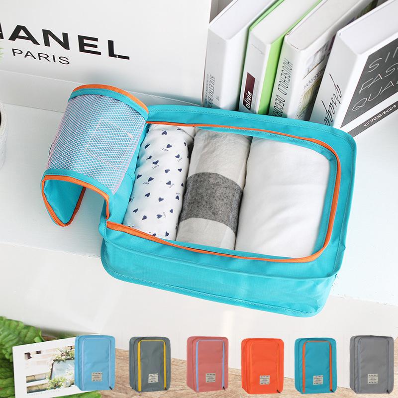 กระเป๋าเก็บของอเนกประสงค์ ผ้ากันน้ำ เก็บรองเท้า เสื้อผ้า ของใช้สำหรับการเดินทาง