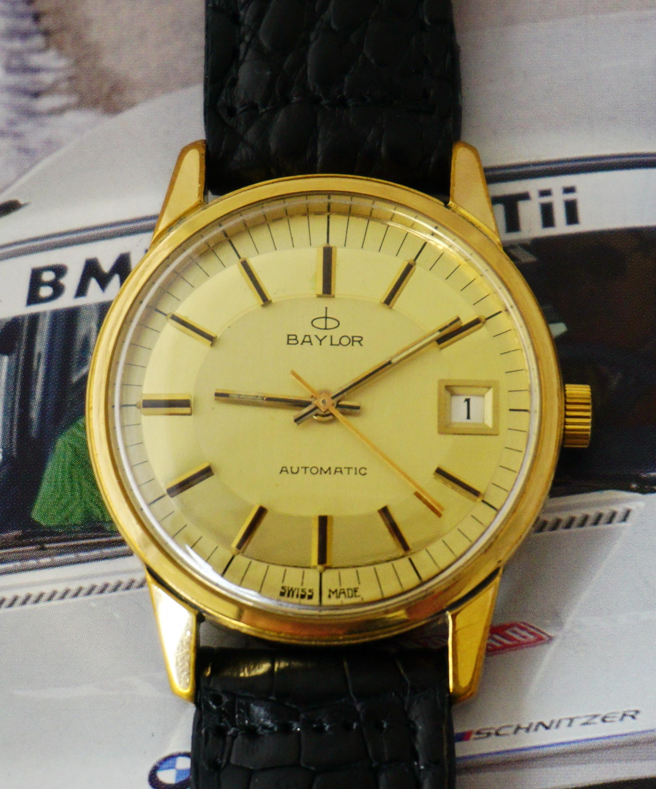 นาฬิกาเก่า BAYLOR ออโตเมติก