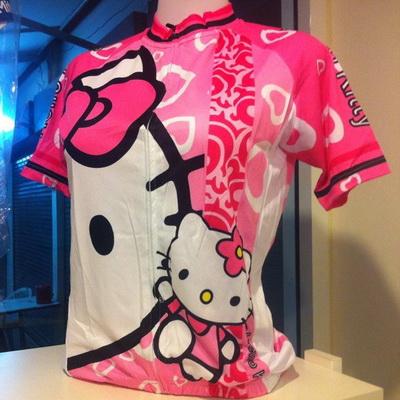 เสื้อปั่นจักรยาน Kitty
