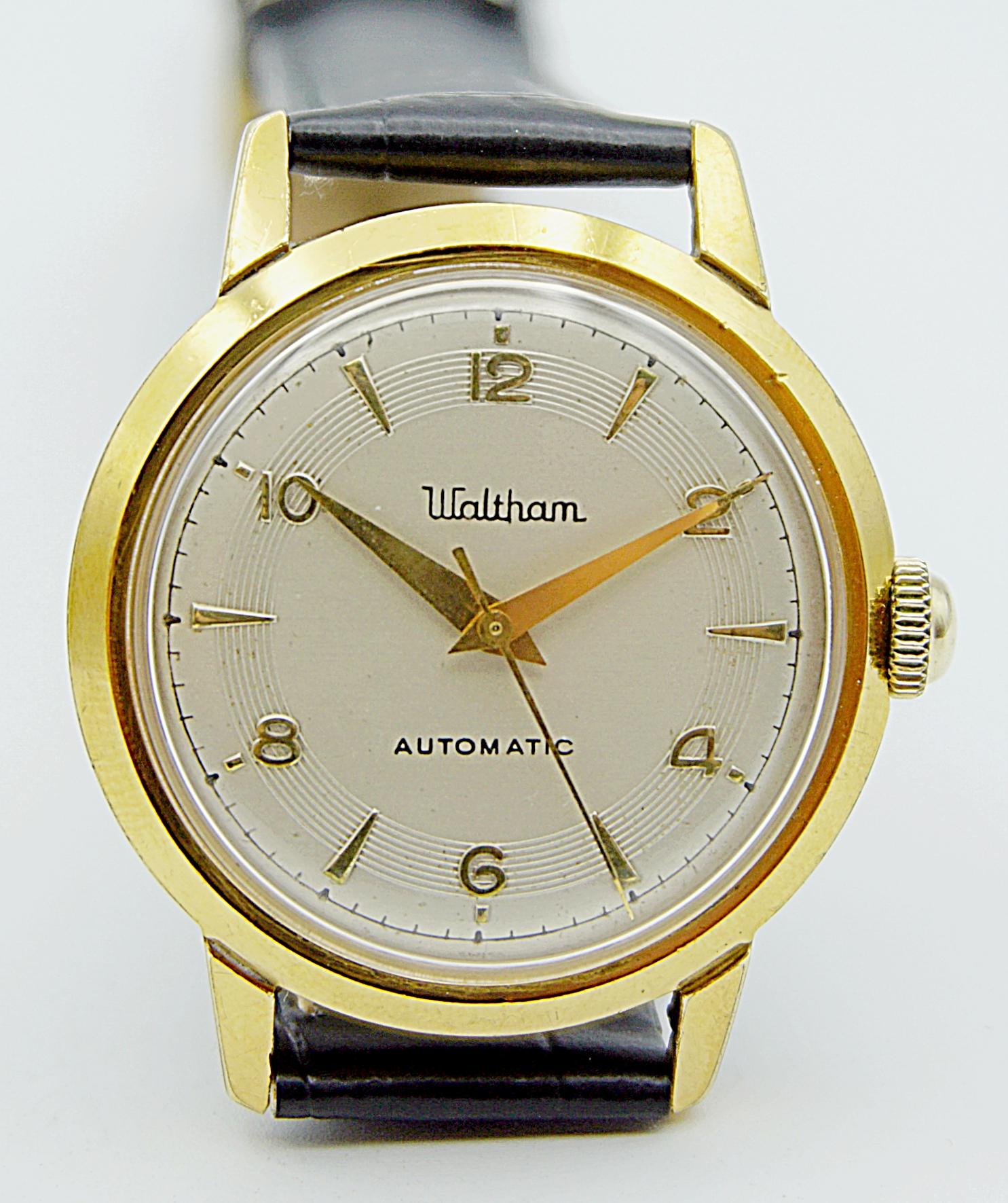 นาฬิกาเก่า WALTHAM ออโตเมติก