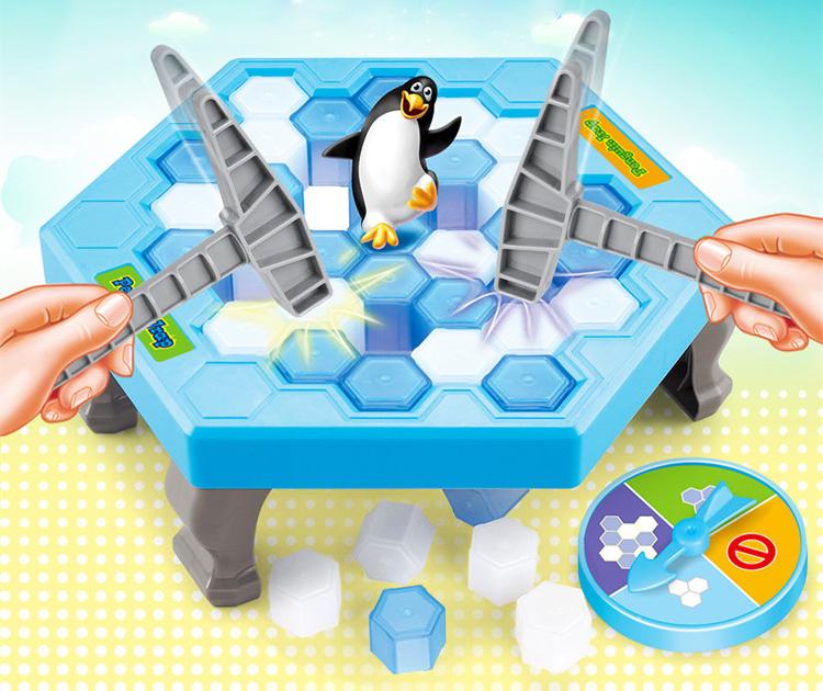 เกมทุบน้ำแข็งช่วยเพนกวิน The Penguin Trap Game ส่งฟรี !!