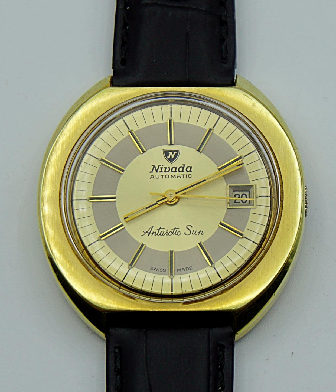 นาฬิกาเก่า NIVADA ออโตเมติก