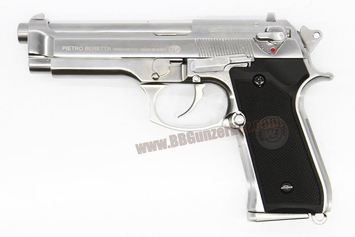 Beretta M92 WE สีเงิน