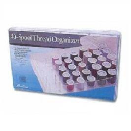 Organiser: for Thread (40 spools): 36 x 23 x 6 cm