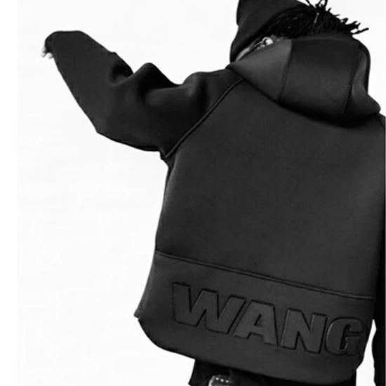 เสื้อฮู้ดAlexander Wang&Hm Zip Hoodie