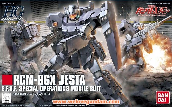 HGUC 1/144 JESTA