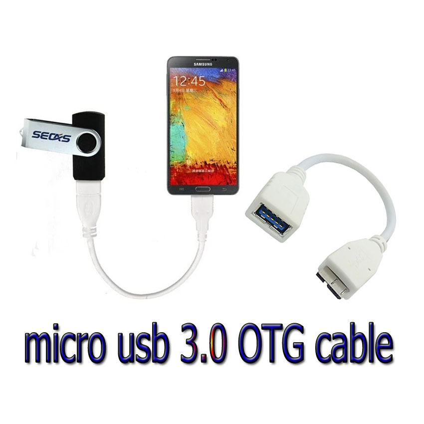 สาย แปลง micro usb 3.0 OTG Highspeed for galaxy note3