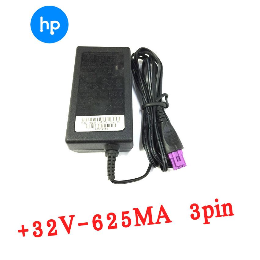 HP printer อะแดปเตอร์ ที่ชาร์จ 4580 4660 4500 4488 หัวสีม่วง