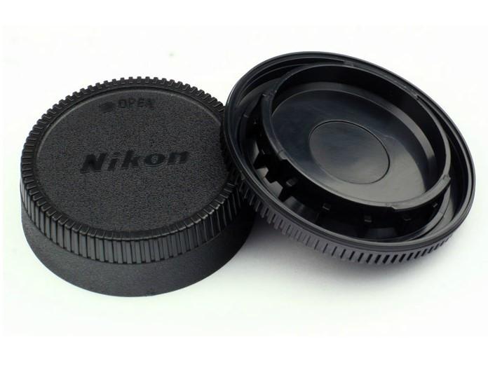 ฝาปิดท้ายเลนส์ - ฝาปิดบอดี้ for Nikon