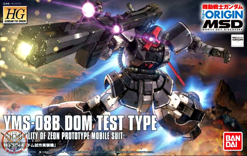 HG 1/144 DOM TEST TYPE
